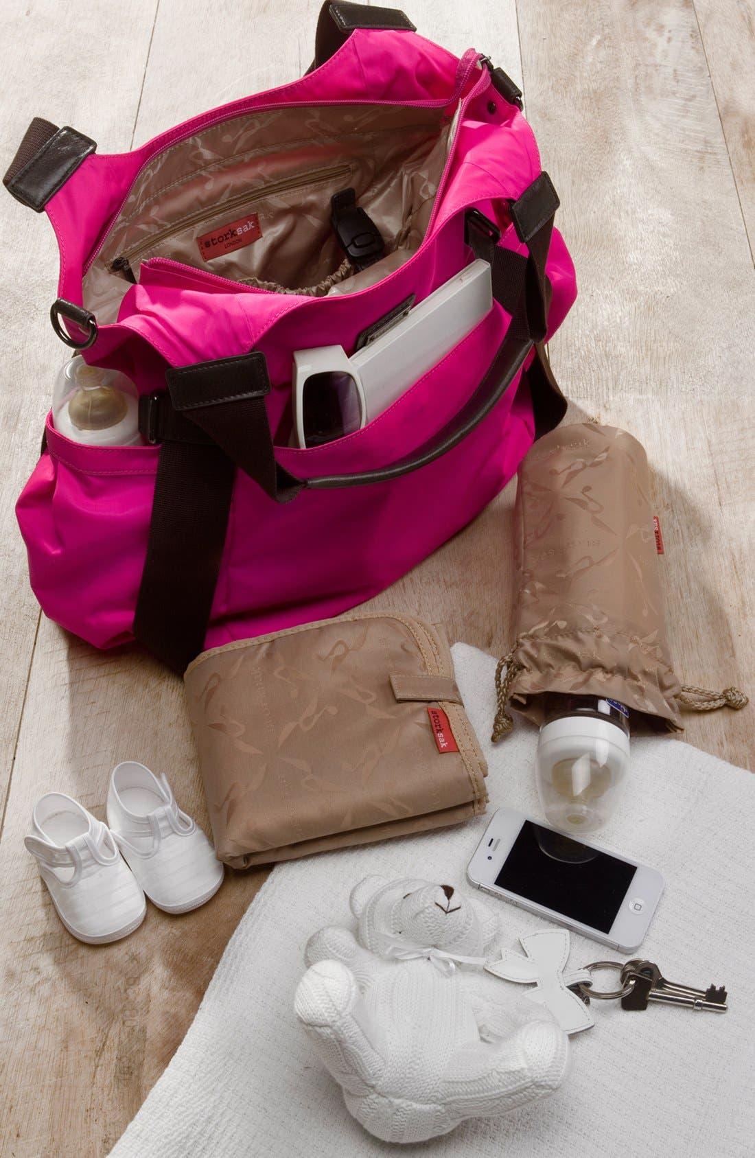 Alternate Image 4  - Storksak 'Tania Bee' Diaper Bag