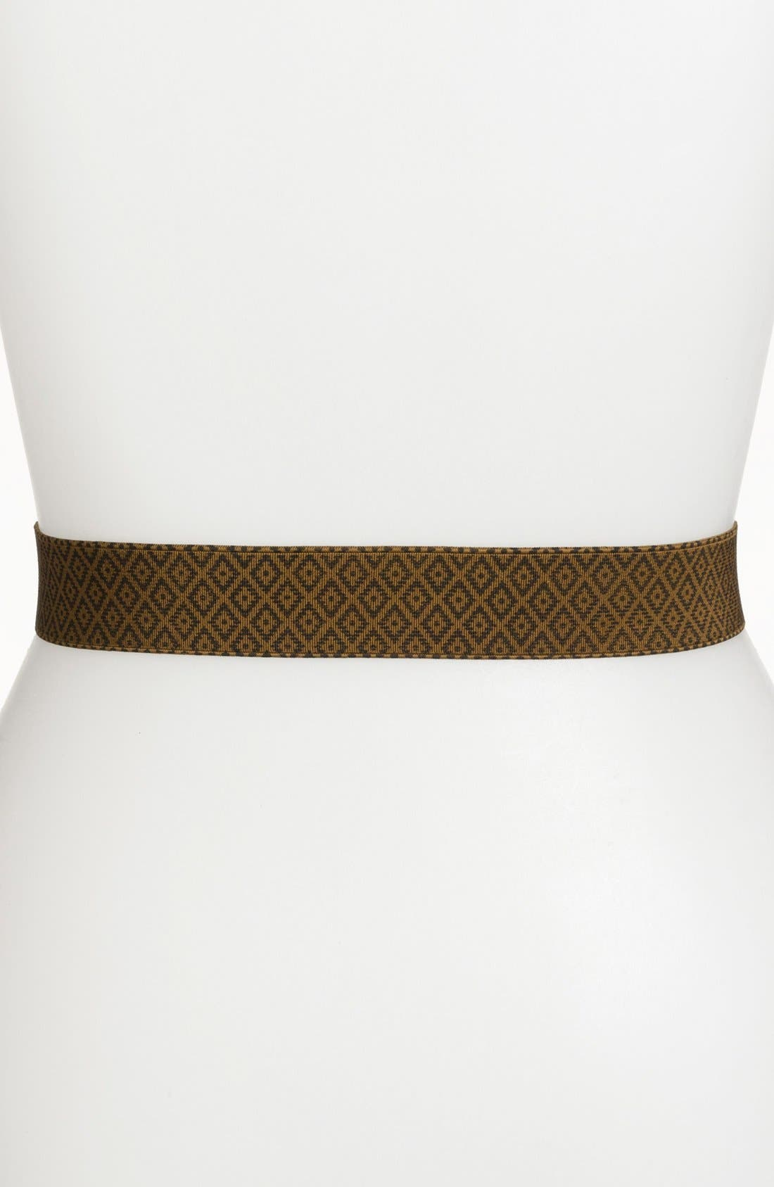 Alternate Image 2  - Tory Burch 'Daria' Printed Stretch Belt