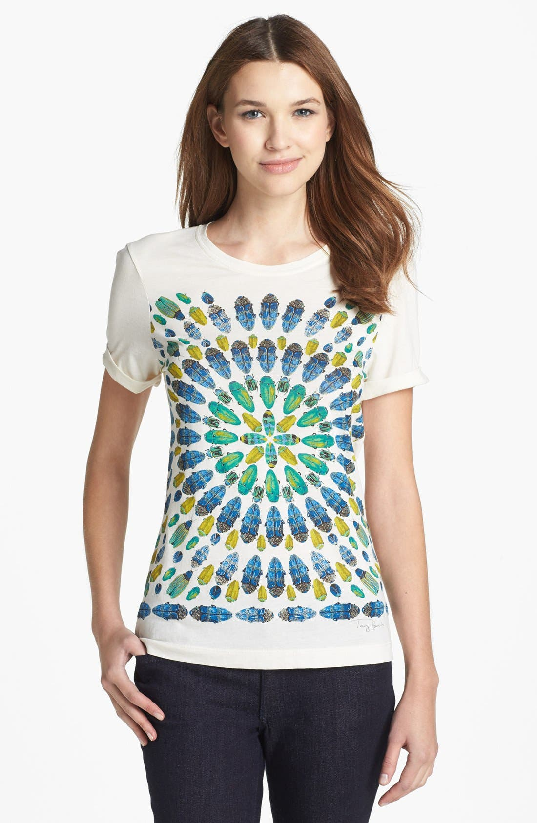 Alternate Image 1 Selected - Tory Burch 'Qorra' Tee