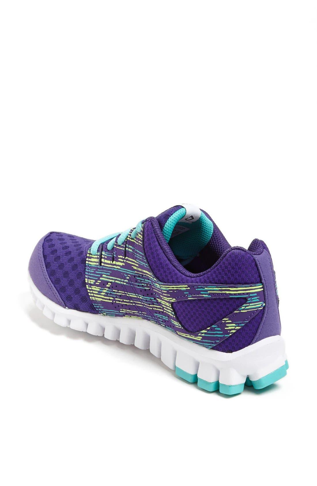 Alternate Image 2  - Reebok 'RealFlex Scream 3.0' Running Shoe (Women)