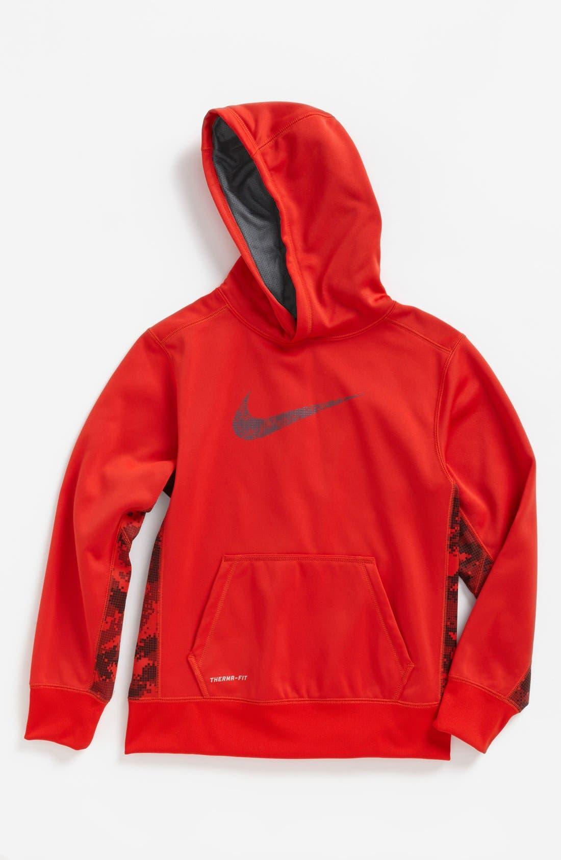 Alternate Image 1 Selected - Nike 'KO Swoosh 2.0' Hoodie (Big Boys)