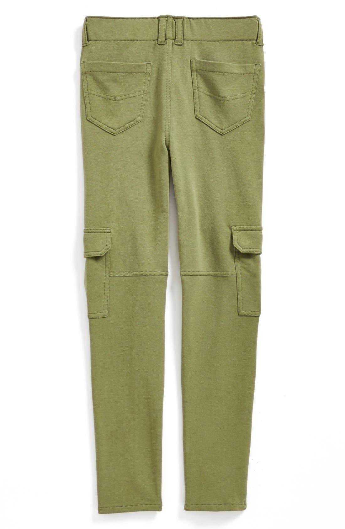 Alternate Image 1 Selected - Tucker + Tate 'Ella' Knit Cargo Pants (Big Girls)