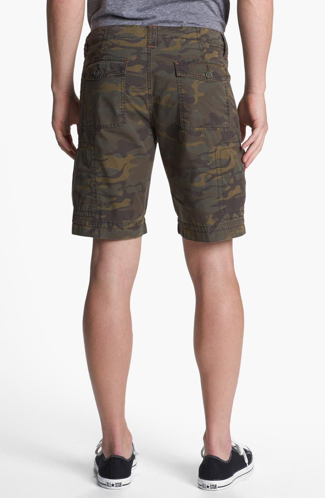Alternate Image 2  - Quiksilver 'Dust Buster' Camo Print Cargo Shorts