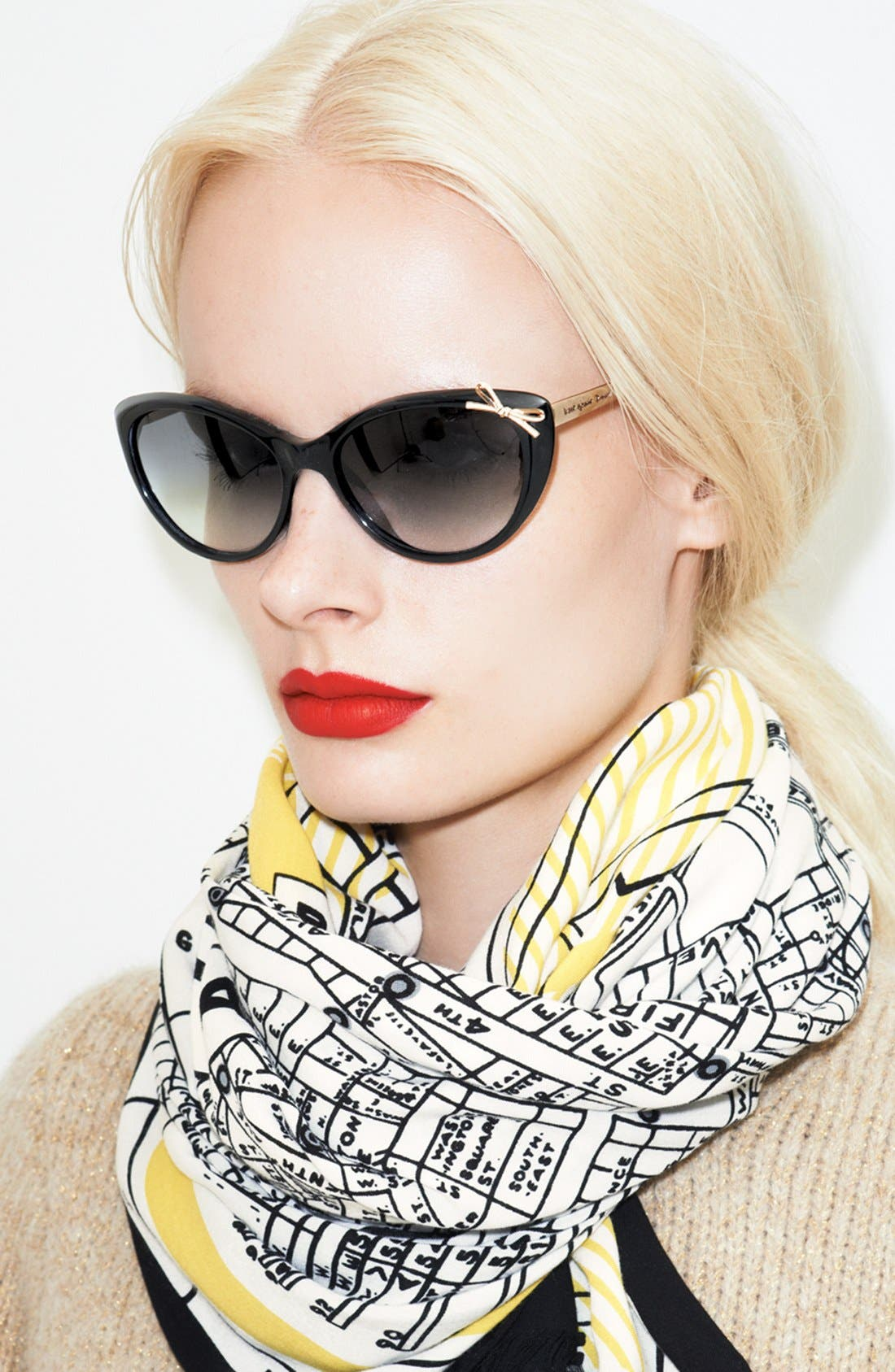 Alternate Image 4  - kate spade new york 'new york map' scarf