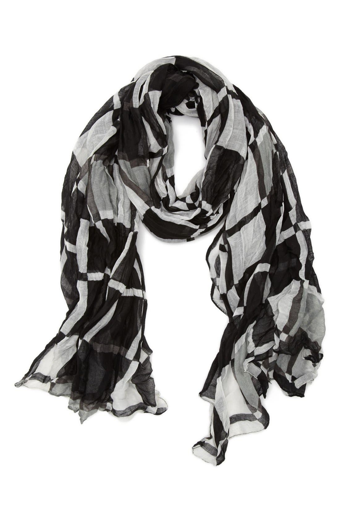 Alternate Image 1 Selected - Tasha 'Crinkle Geo' Scarf