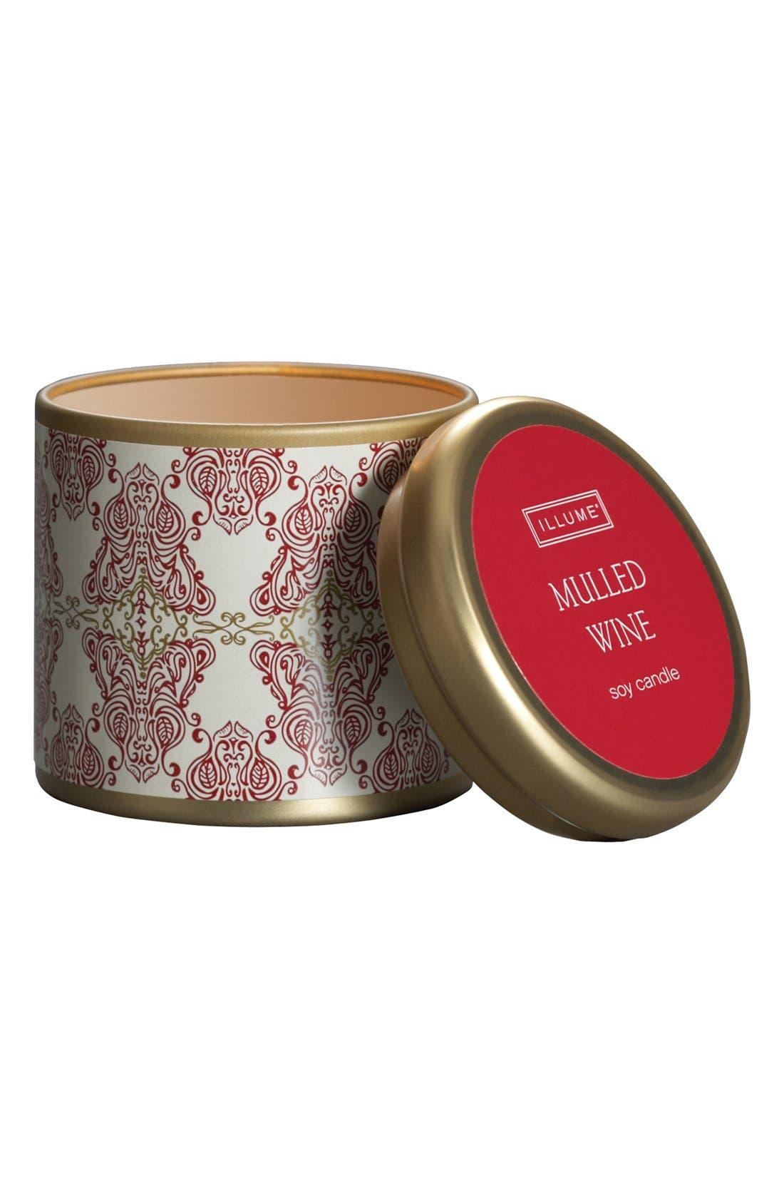 Alternate Image 1 Selected - Illume 'Mini Tin - Mulled Wine' Candle