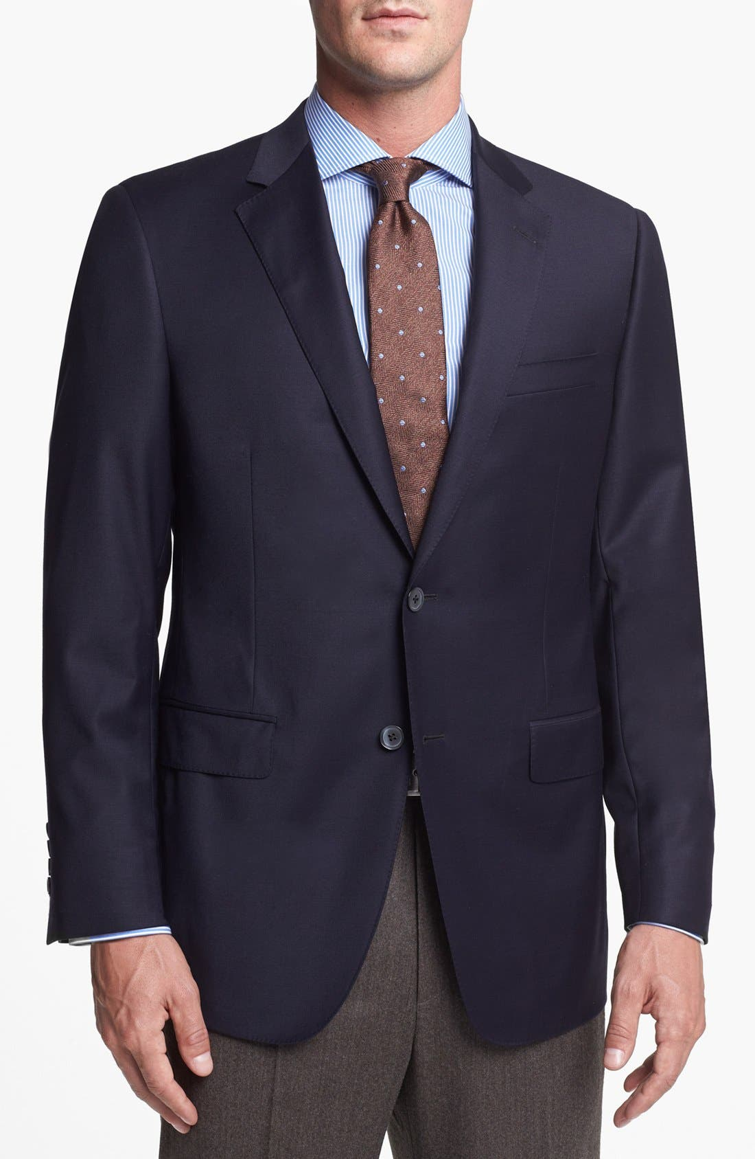 Alternate Image 1 Selected - Samuelsohn 'Performance' Classic Fit Blazer