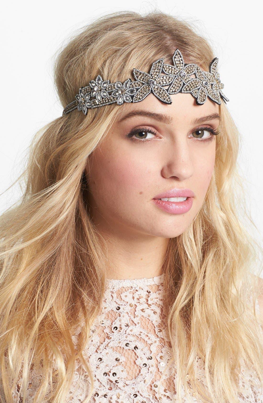 Alternate Image 1 Selected - Cara 'Flapper Girl' Head Wrap