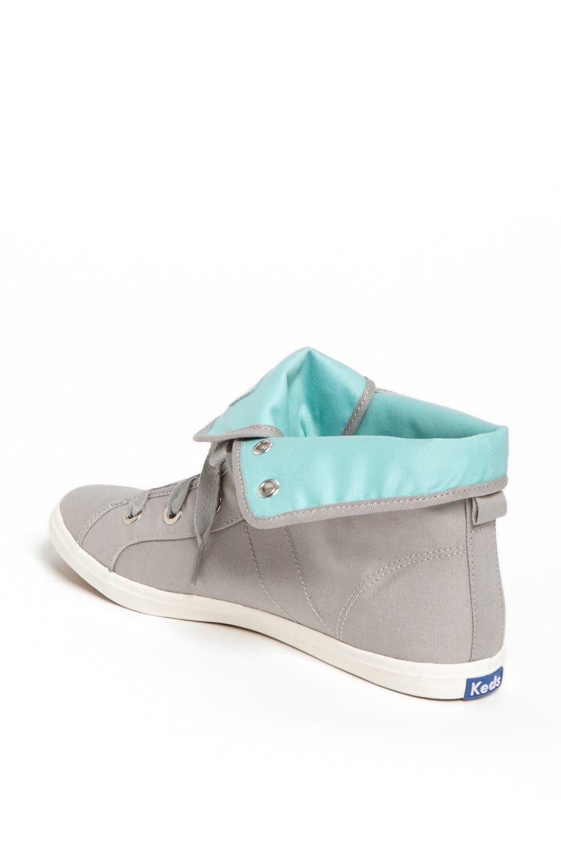 Alternate Image 2  - Keds® 'Rookie - Loop-De-Loop' High Top Sneaker (Women)