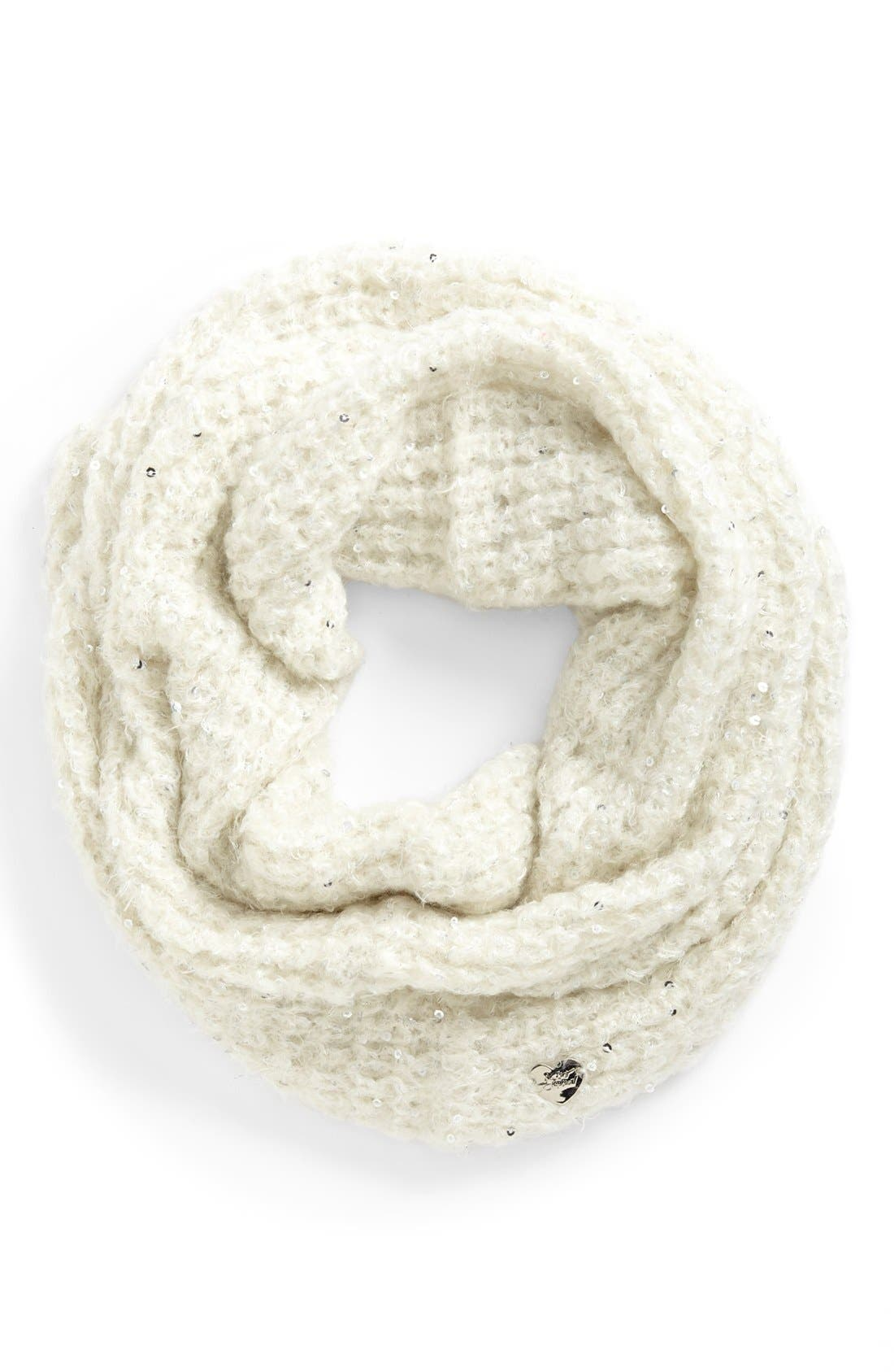 Alternate Image 1 Selected - Betsey Johnson 'Fairy Dust' Infinity Scarf