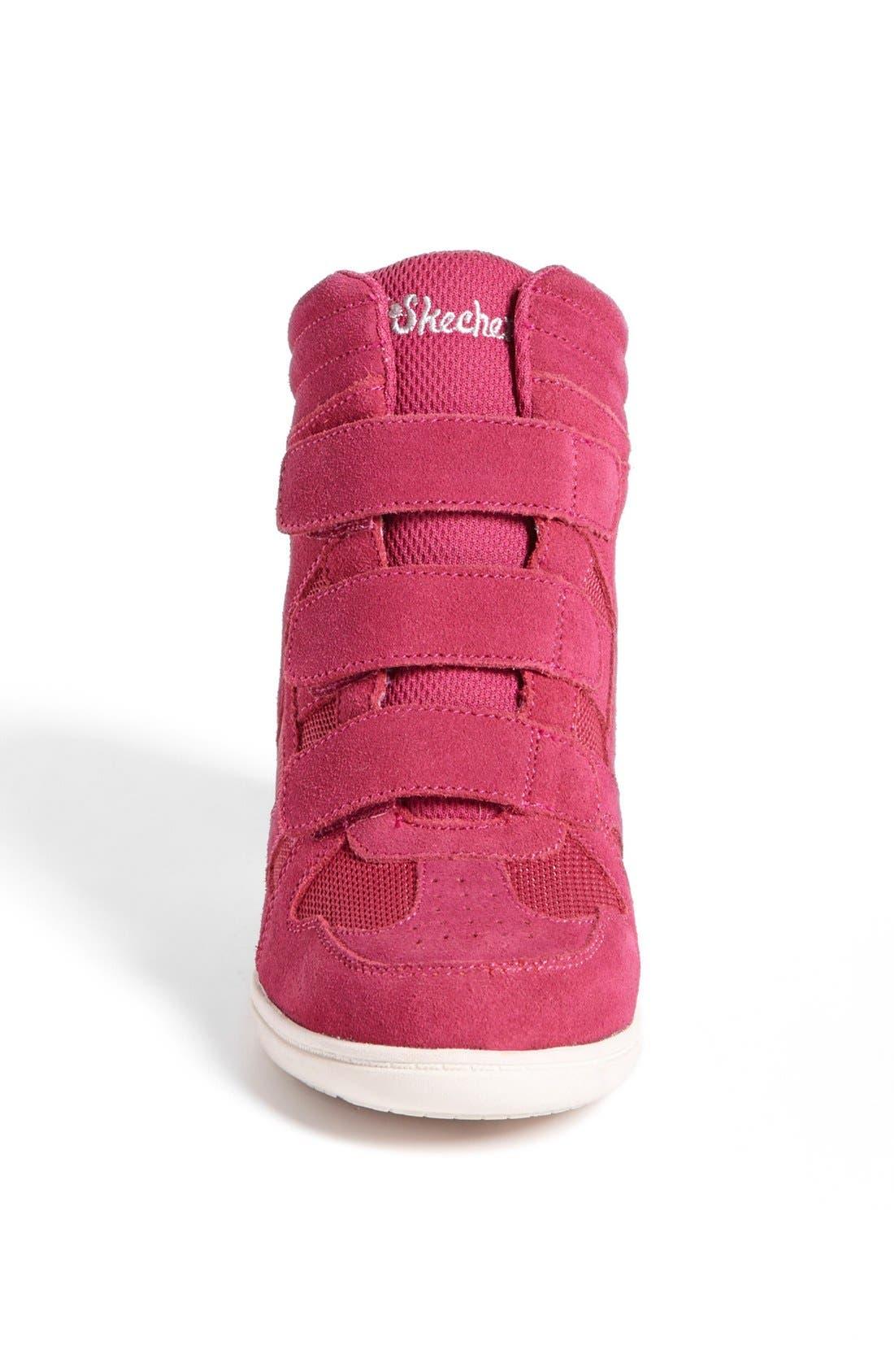 Alternate Image 3  - SKECHERS 'Double Trouble' Wedge Sneaker (Toddler, Little Kid & Big Kid)