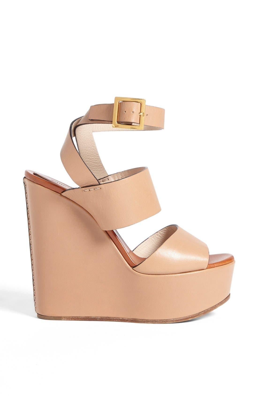 Alternate Image 2  - Chloé 'Central' Wedge Sandal