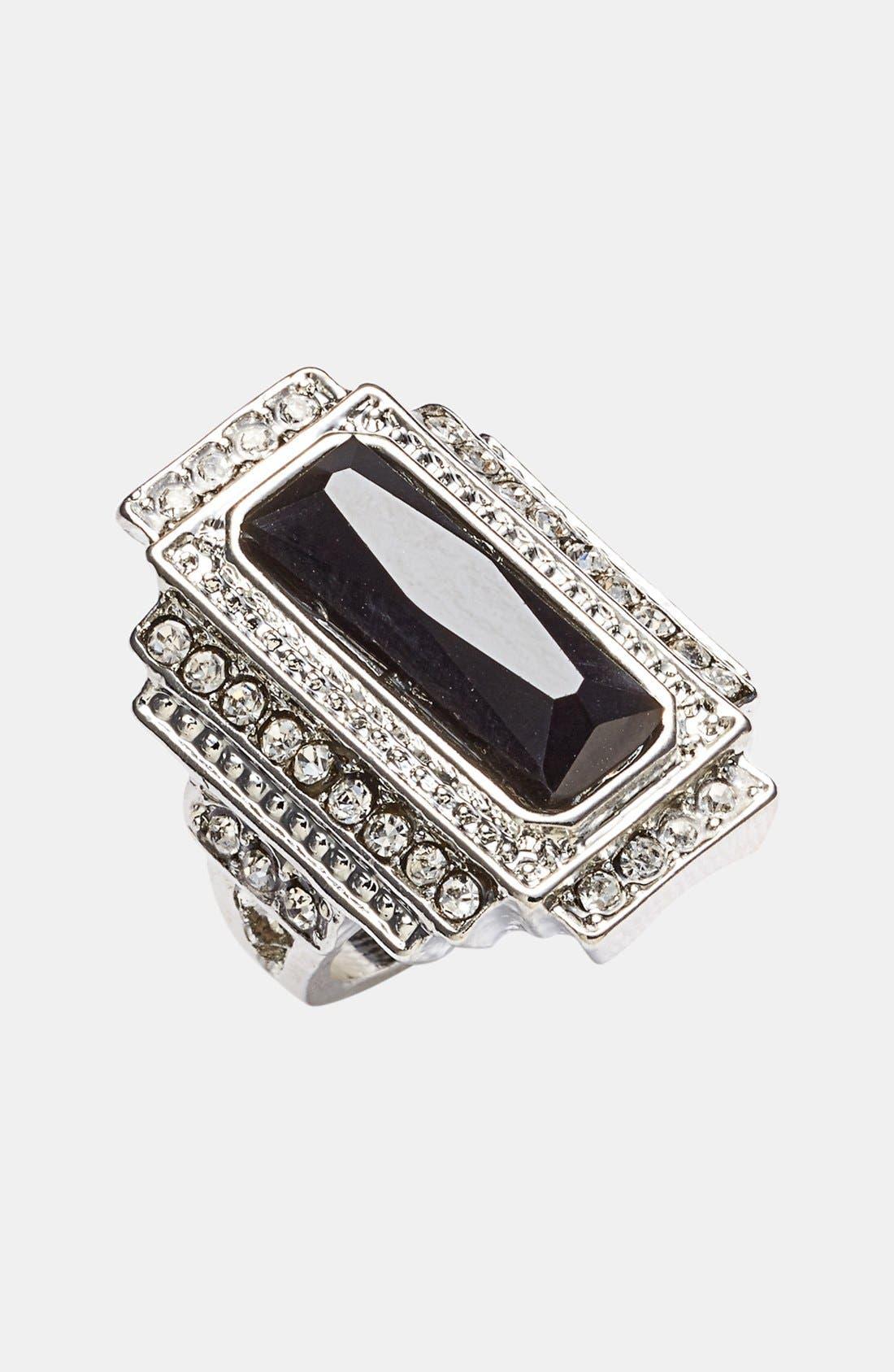 Main Image - Tildon Vintage Rectangular Stone Ring