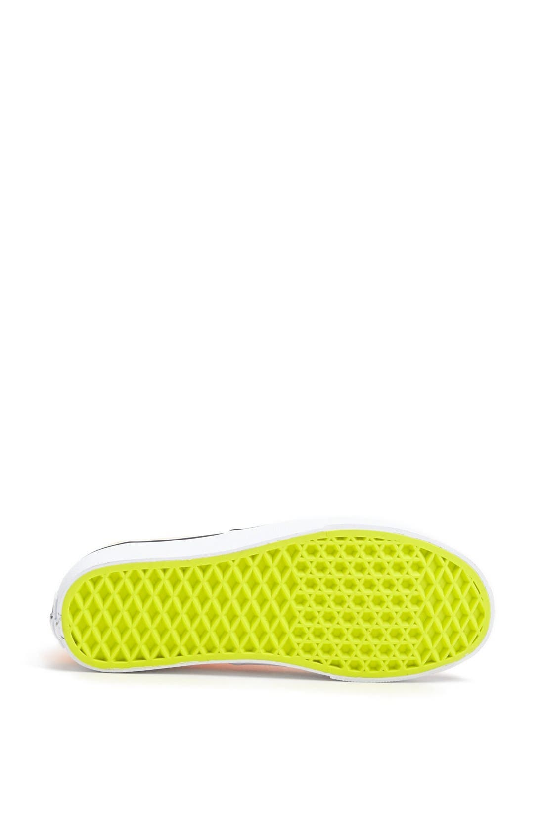 Alternate Image 4  - Vans 'Authentic' Neon Sneaker (Women)