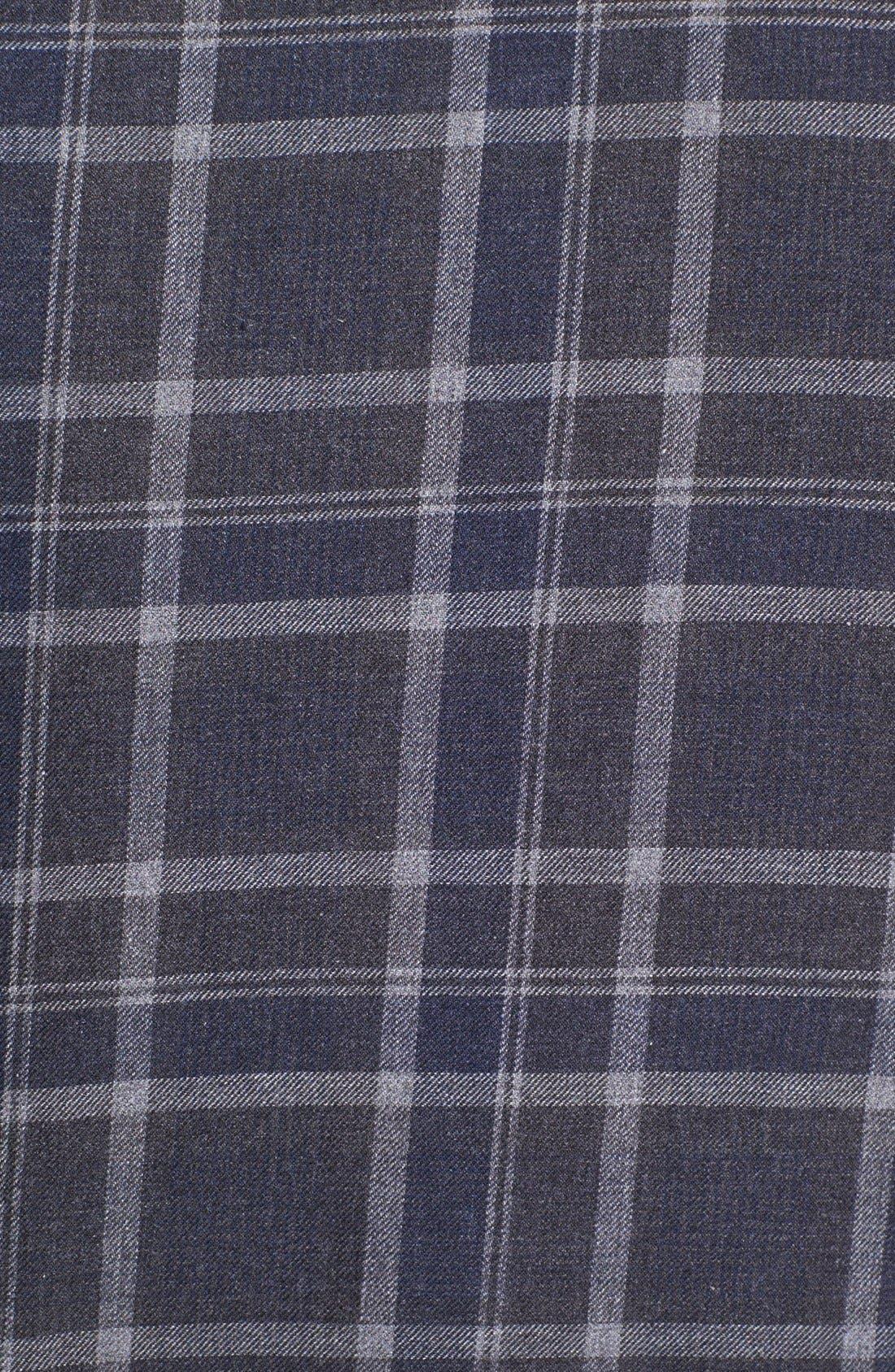 Alternate Image 3  - Edun Dip Dyed Plaid Shirt