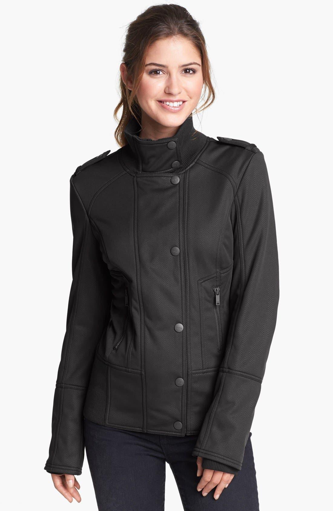 Main Image - Zella 'Bella' Soft Shell Jacket