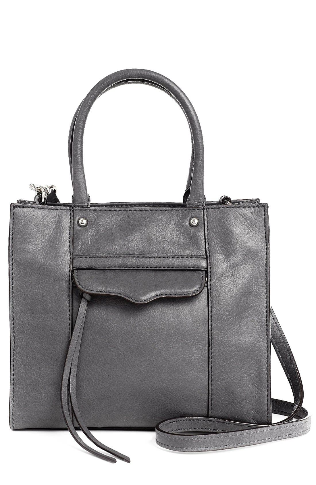 Alternate Image 1 Selected - Rebecca Minkoff 'MAB Mini' Leather Tote