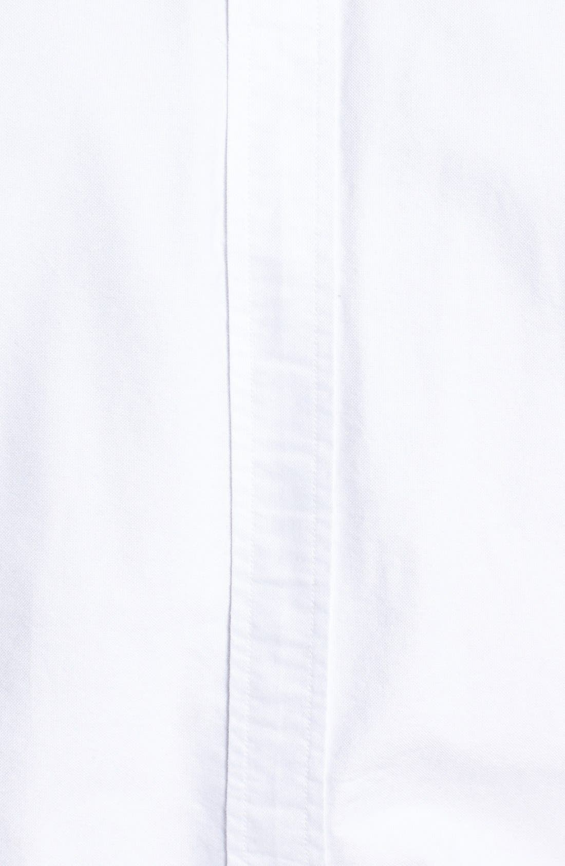 Alternate Image 3  - Fred Perry Extra Trim Fit Oxford Sport Shirt
