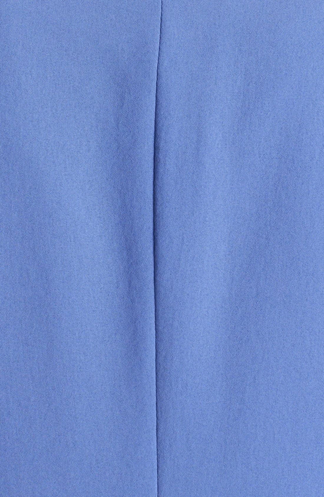 Alternate Image 3  - Kenneth Cole New York 'Hermia' Zipper Detail Open Front Blazer