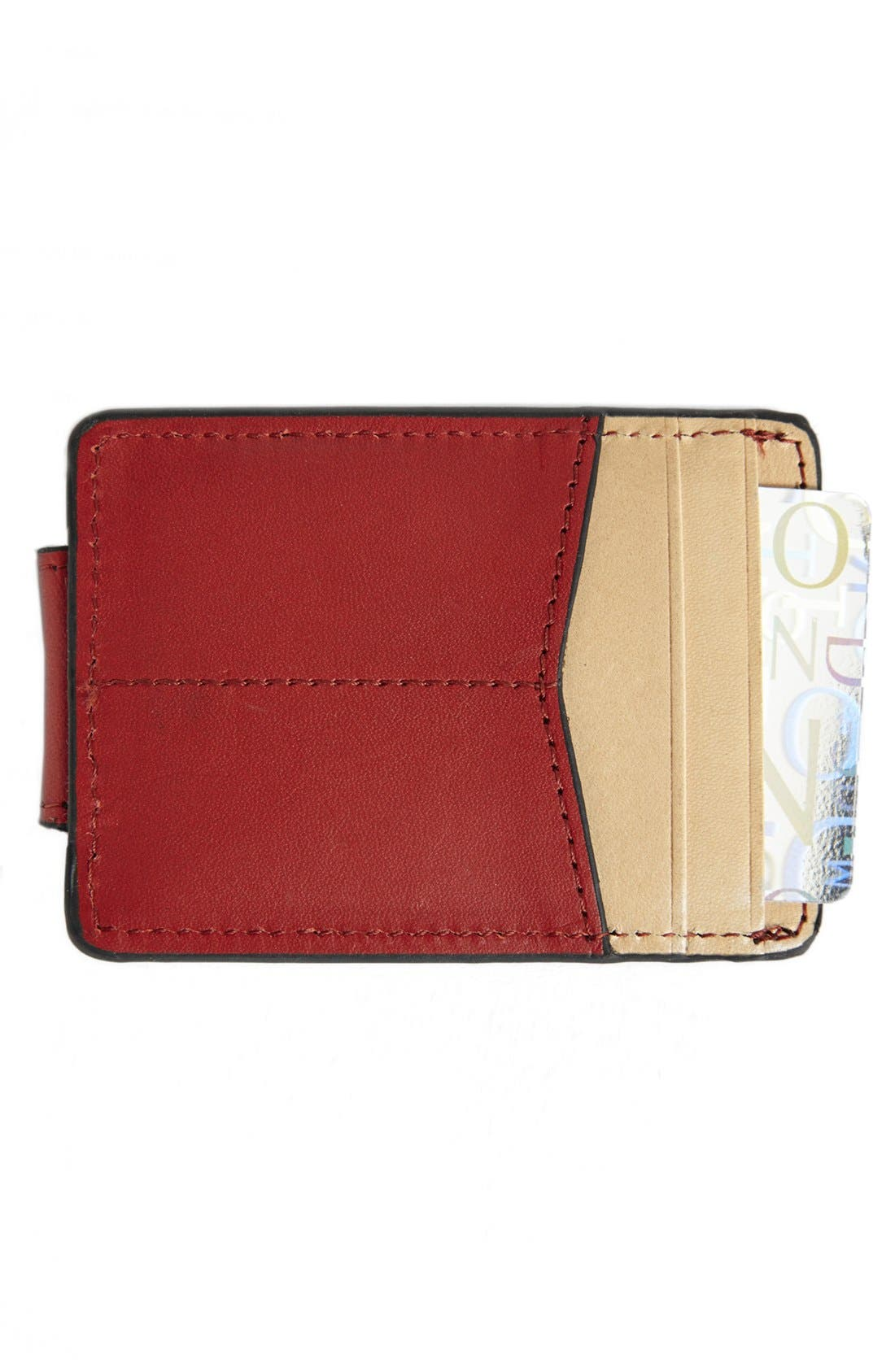 Alternate Image 1 Selected - J. Fold 'Thunderbird' Money Clip Wallet