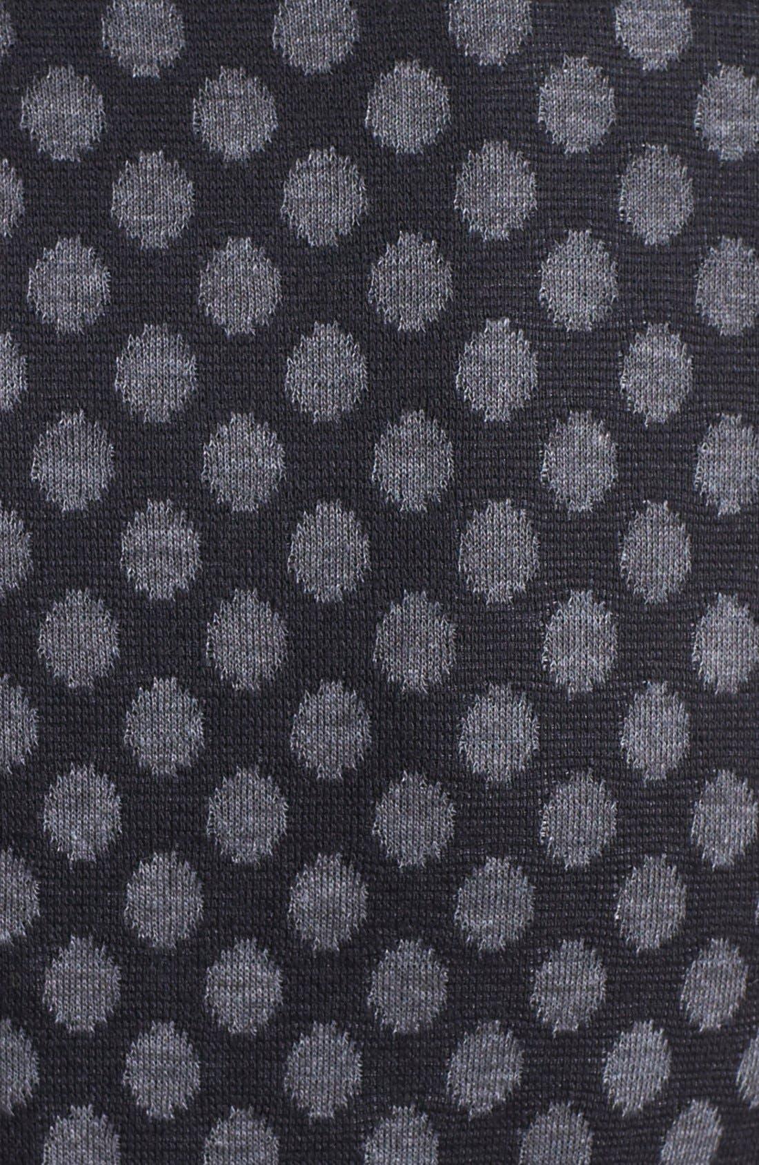 Alternate Image 3  - Maggy London Jacquard Ponte Fit & Flare Dress