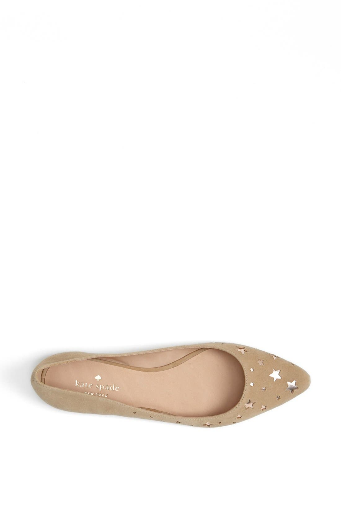 Alternate Image 3  - kate spade new york 'evennie' flat