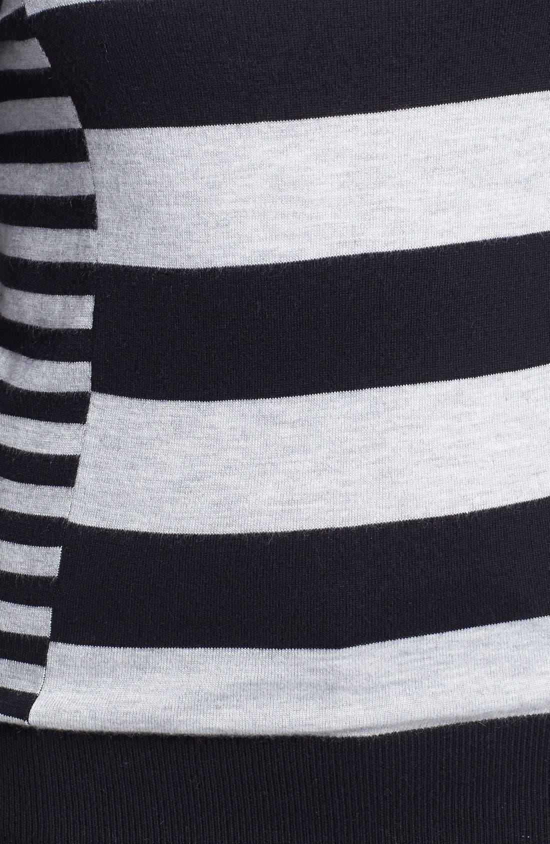 Alternate Image 3  - Halogen® Pattern Sweater (Regular & Petite)