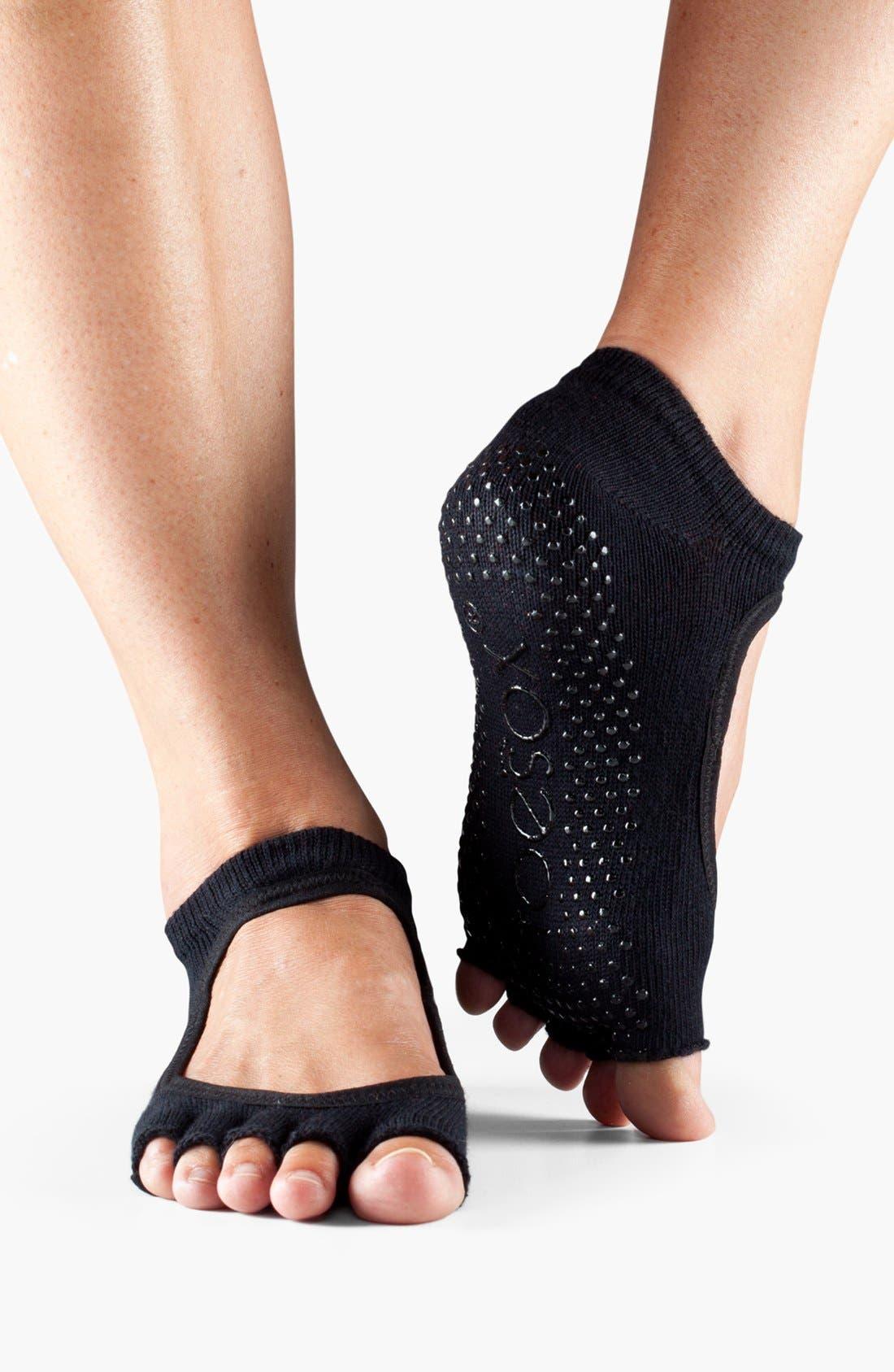 Alternate Image 1 Selected - ToeSox 'Bella' Half Toe Gripper Socks