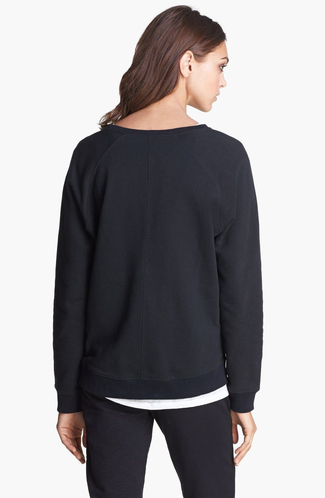 Alternate Image 2  - The Kooples Logo Sweatshirt