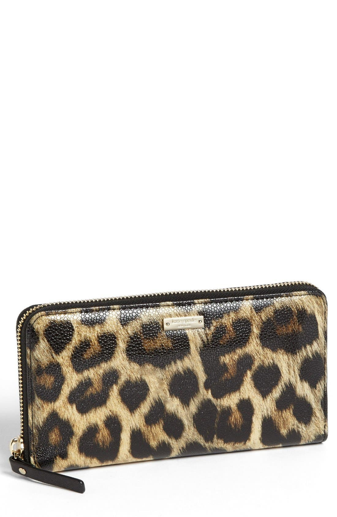Main Image - kate spade new york 'cedar street animal - lacey' wallet