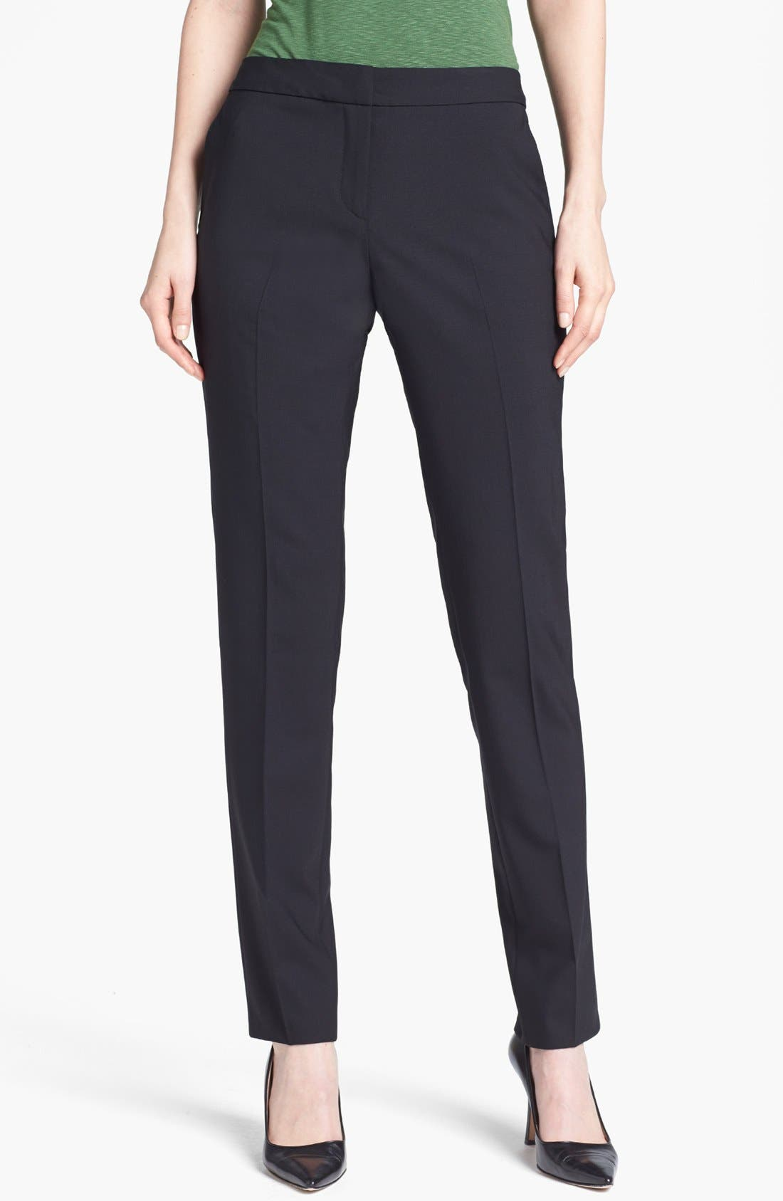 Alternate Image 1 Selected - Santorelli 'Alden' Slim Leg Pants