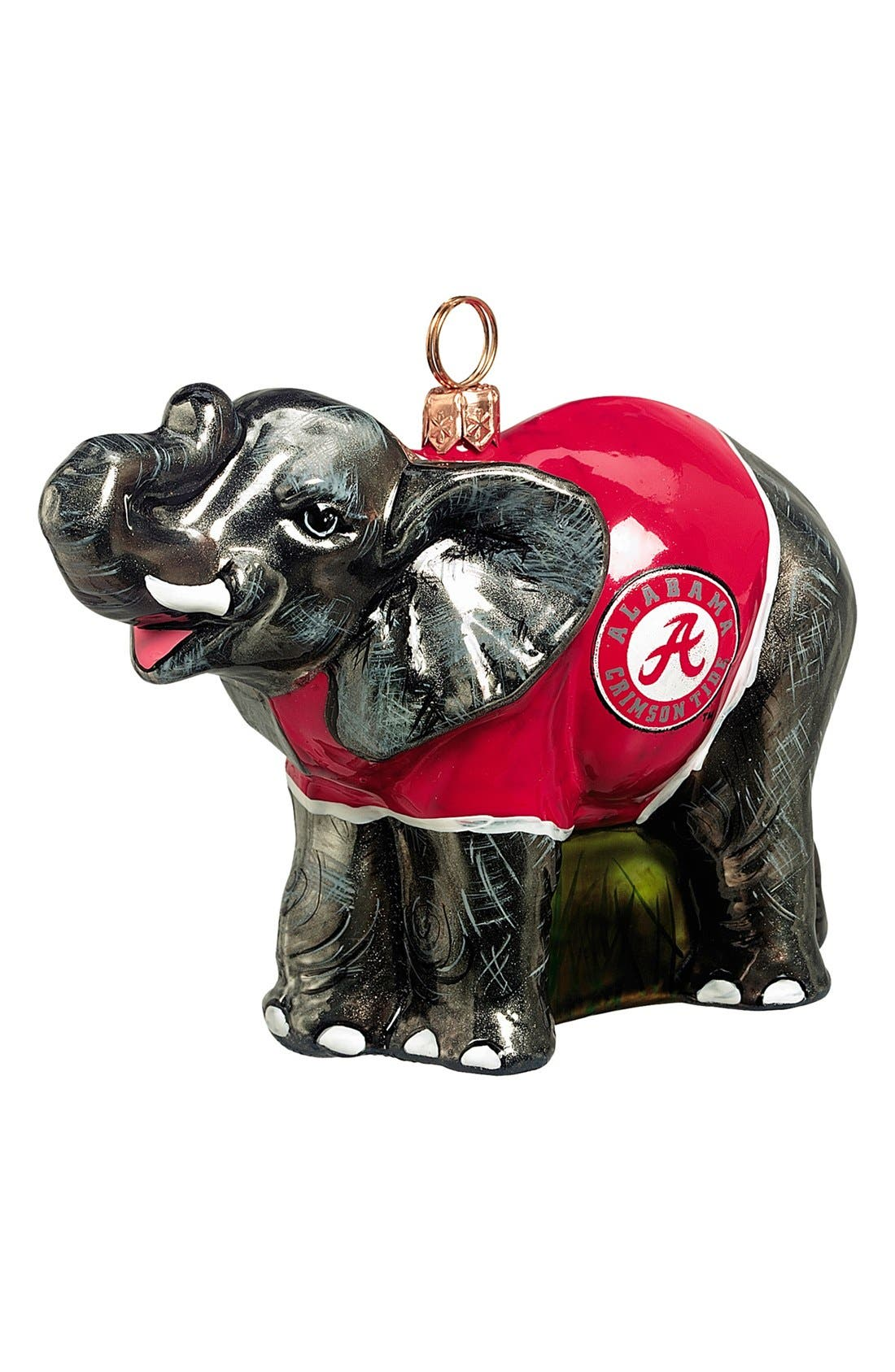 Alternate Image 1 Selected - Joy to the World Collectibles 'Collegiate Elephant - Alabama' Ornament
