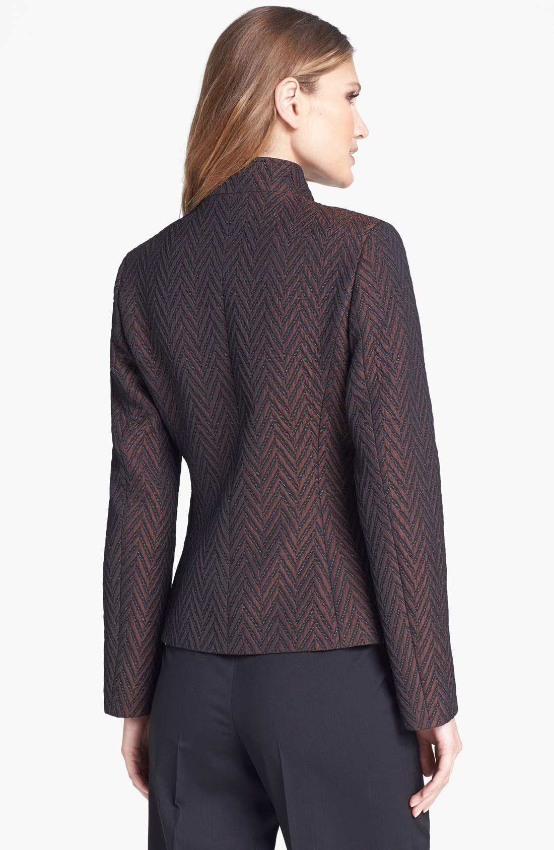 Alternate Image 2  - Zanella Quilted Chevron Jacket