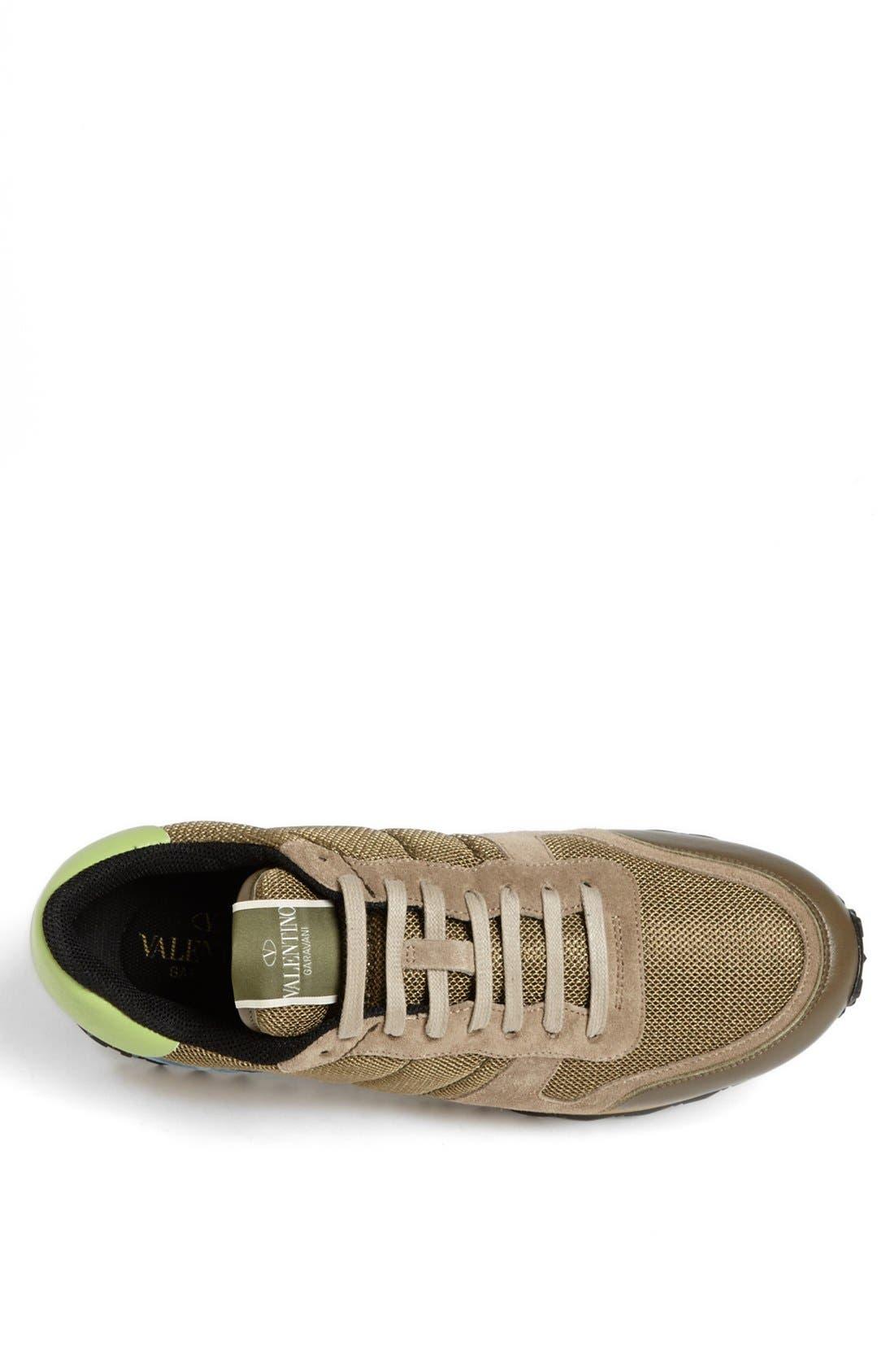 Alternate Image 3  - Valentino Camouflage Sneaker (Men)