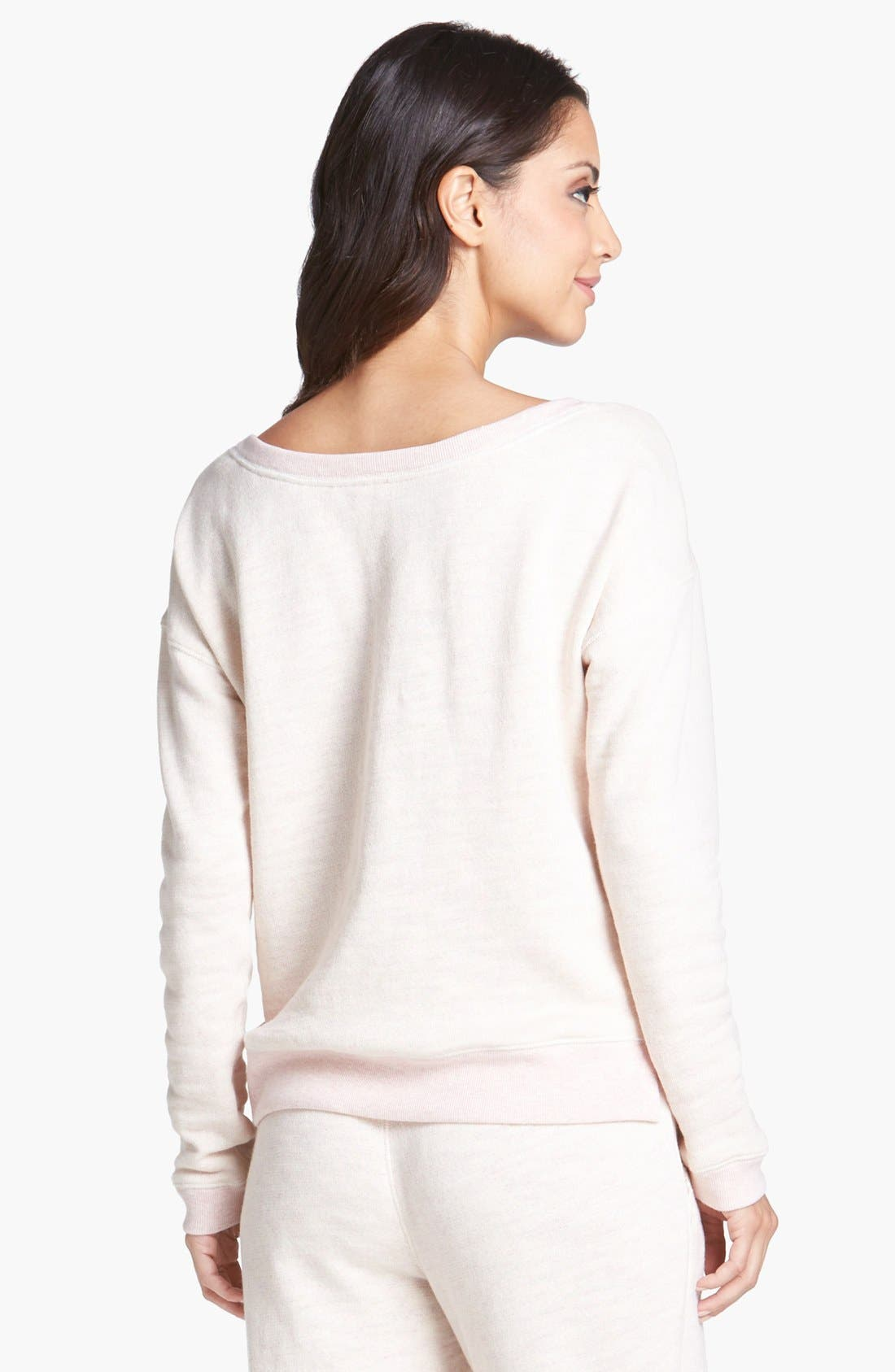 Alternate Image 2  - Juicy Couture 'Hello Sugar' Lace Pullover