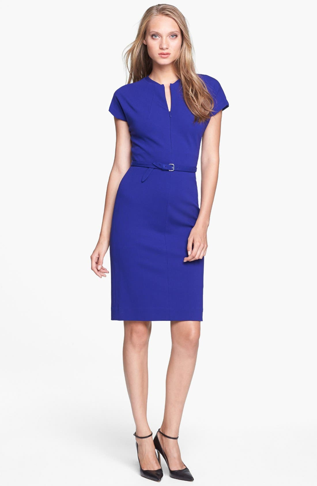 Main Image - Diane von Furstenberg 'Maizah' Twill Sheath Dress