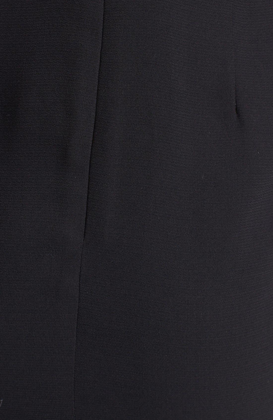 Alternate Image 3  - Line & Dot V-Back Sheath Dress