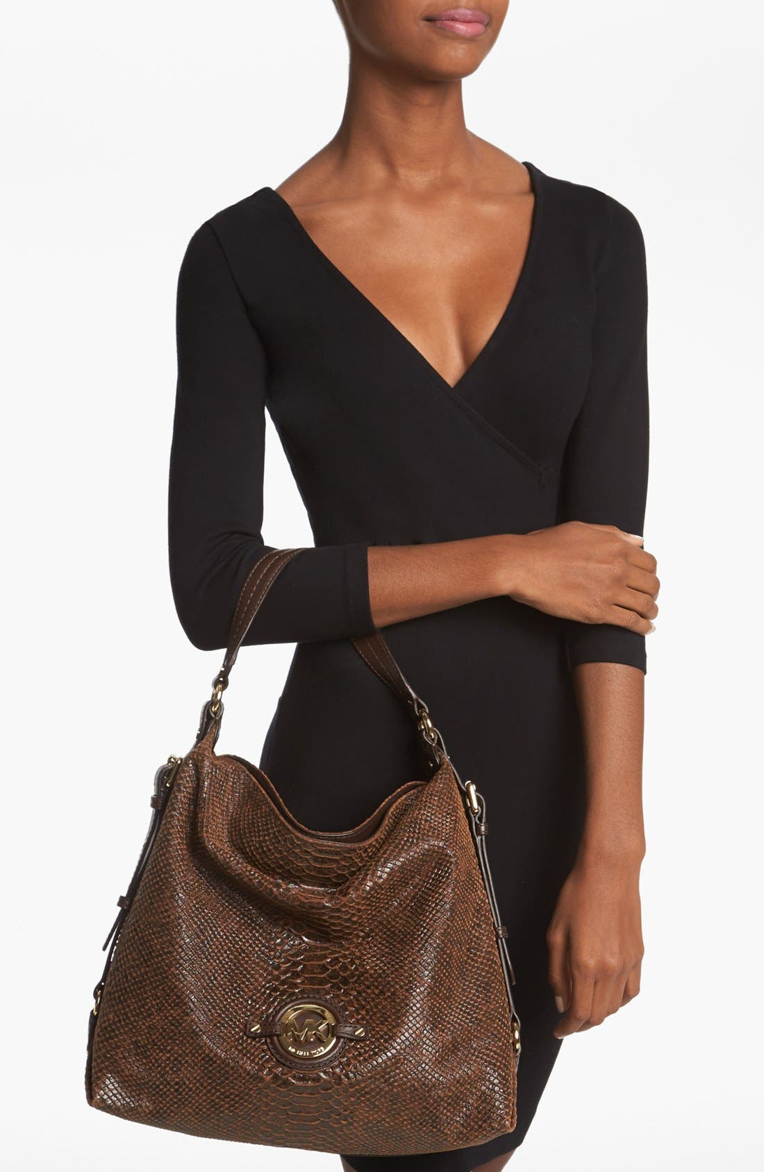 Alternate Image 2  - MICHAEL Michael Kors 'Stockard - Large' Shoulder Bag