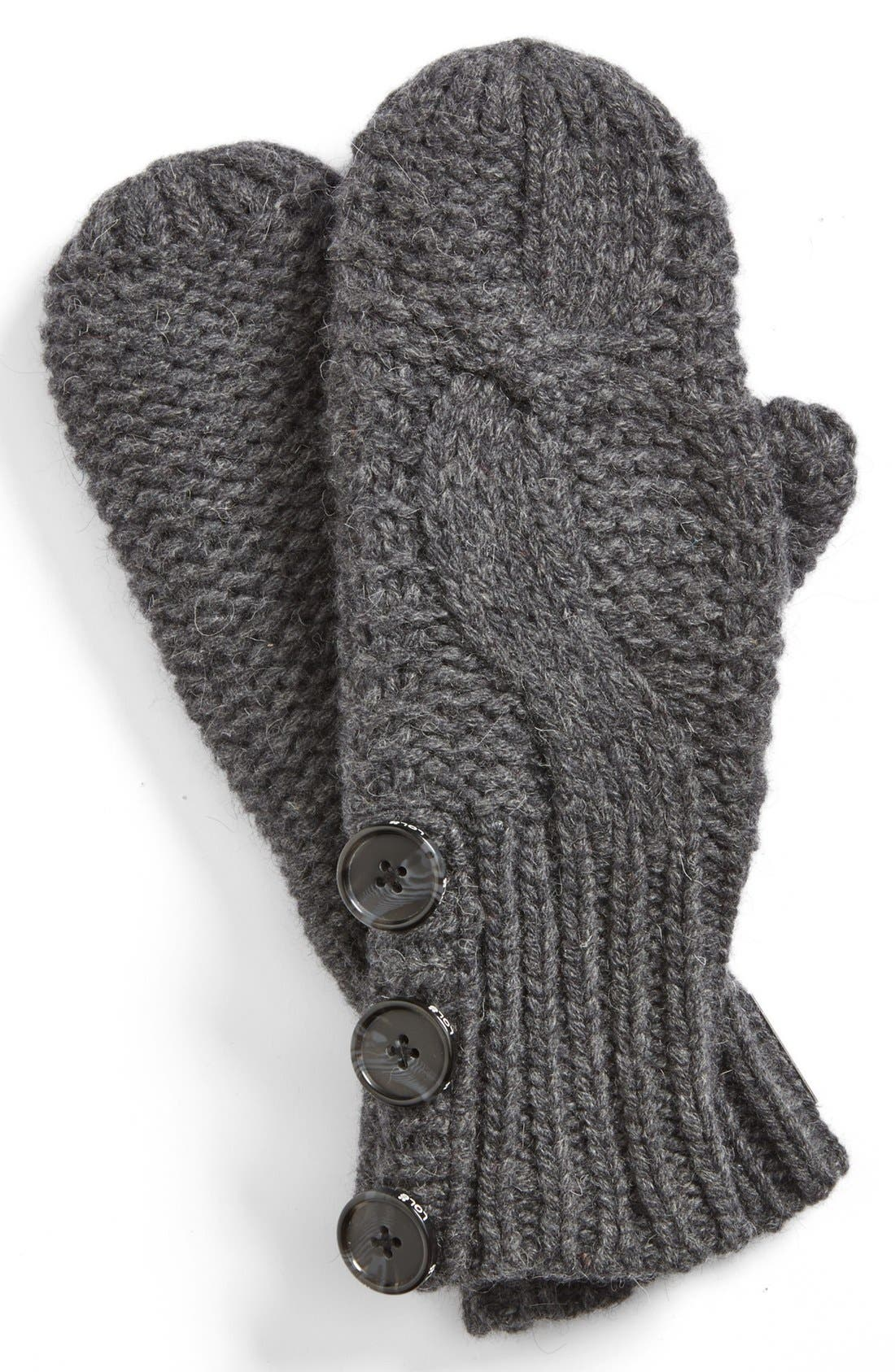 Alternate Image 1 Selected - Lole Cable Knit Mittens