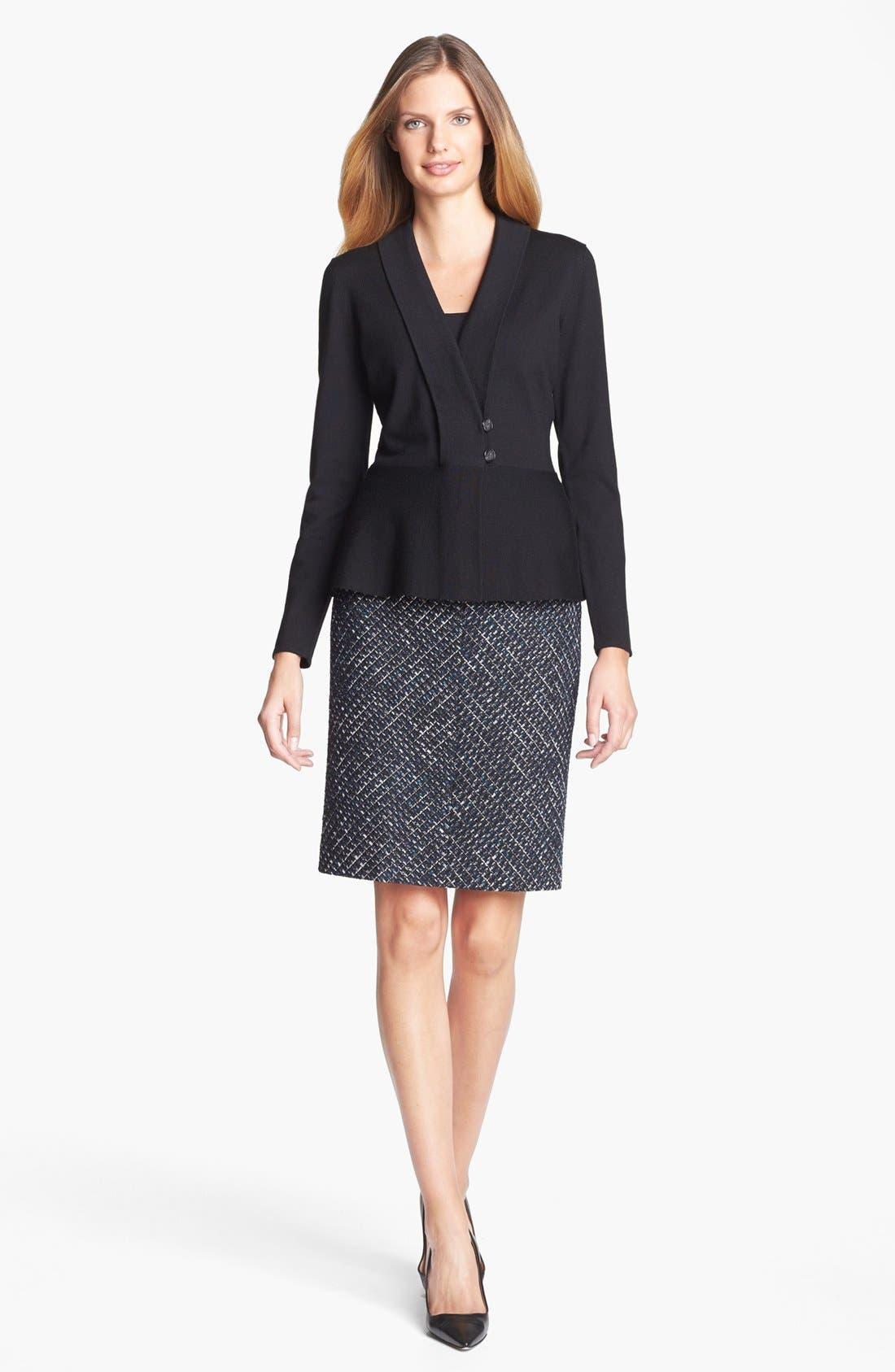 Alternate Image 3  - Classiques Entier® 'Ambra Weave' Skirt