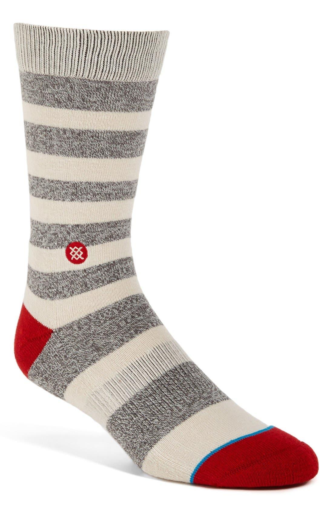 Alternate Image 1 Selected - Stance 'Striation' Socks