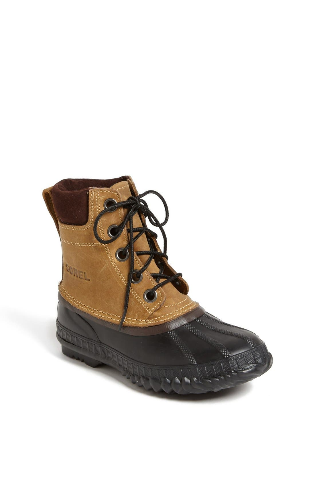 Alternate Image 1 Selected - SOREL 'Cheyenne' Boot (Little Kid & Big Kid)
