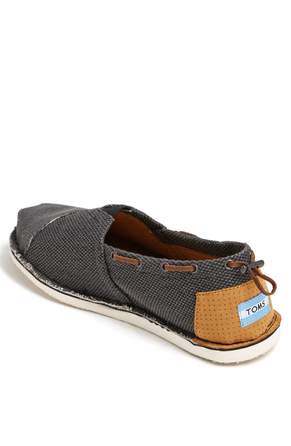 Alternate Image 2  - TOMS 'Bimini - Stitchout' Slip-On (Men)