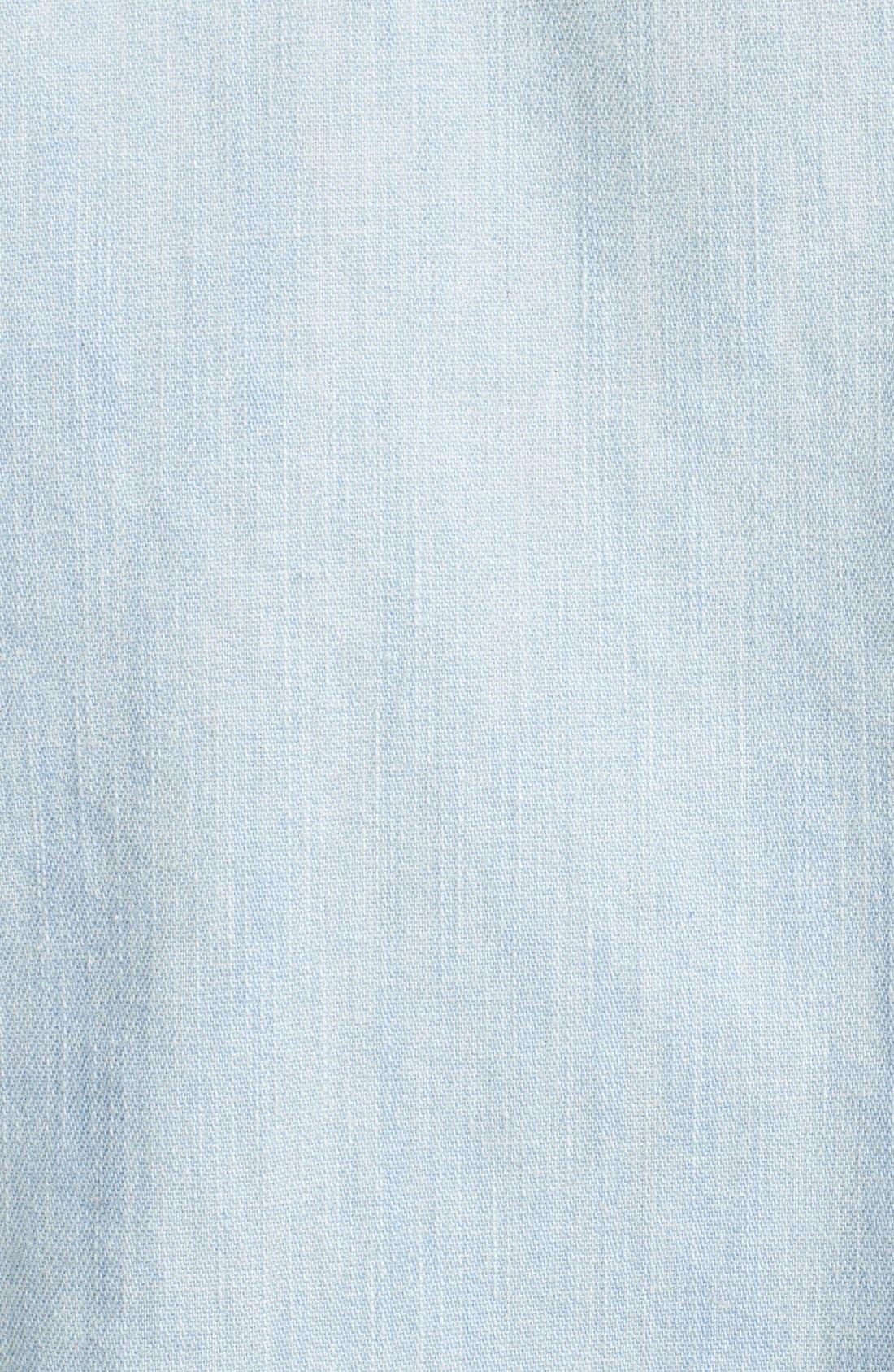 Alternate Image 3  - Current/Elliott 'The Perfect' Button Front Denim Shirt