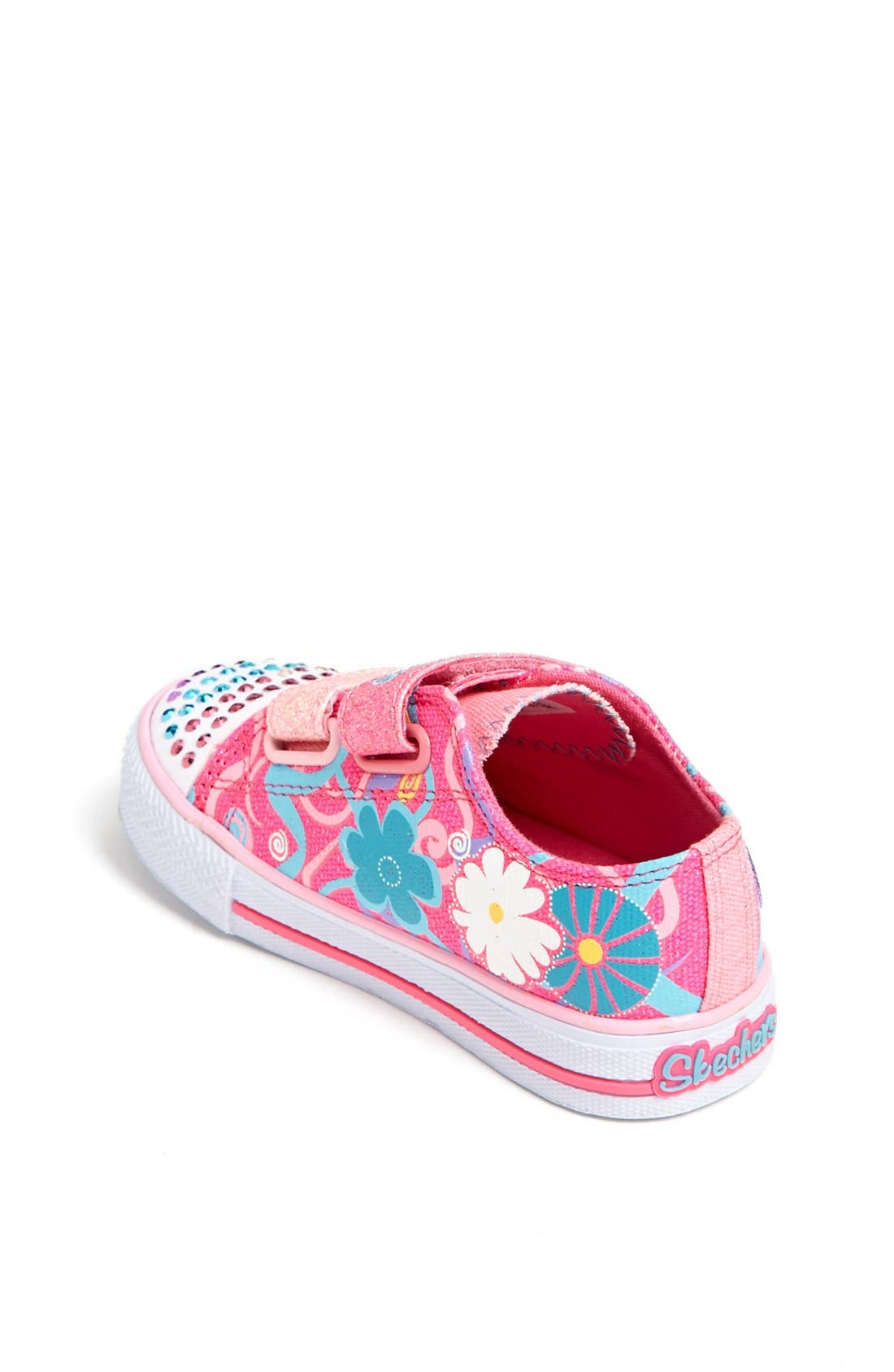 Alternate Image 2  - SKECHERS 'Twinkle Toes - Sweet Talk' Light-Up Sneaker (Walker & Toddler)
