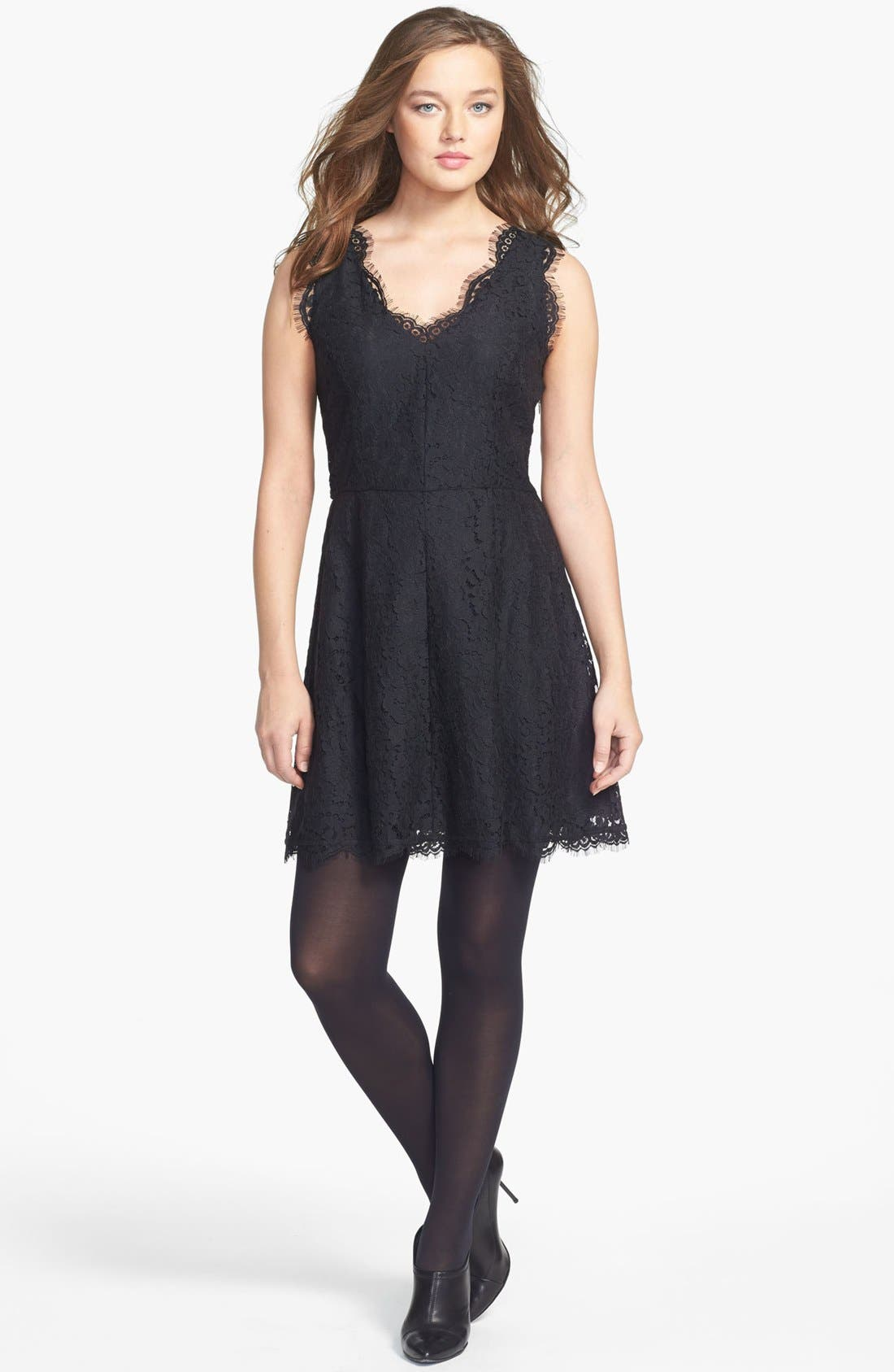 Main Image - Joie Nikolina B. Lace A-Line Dress