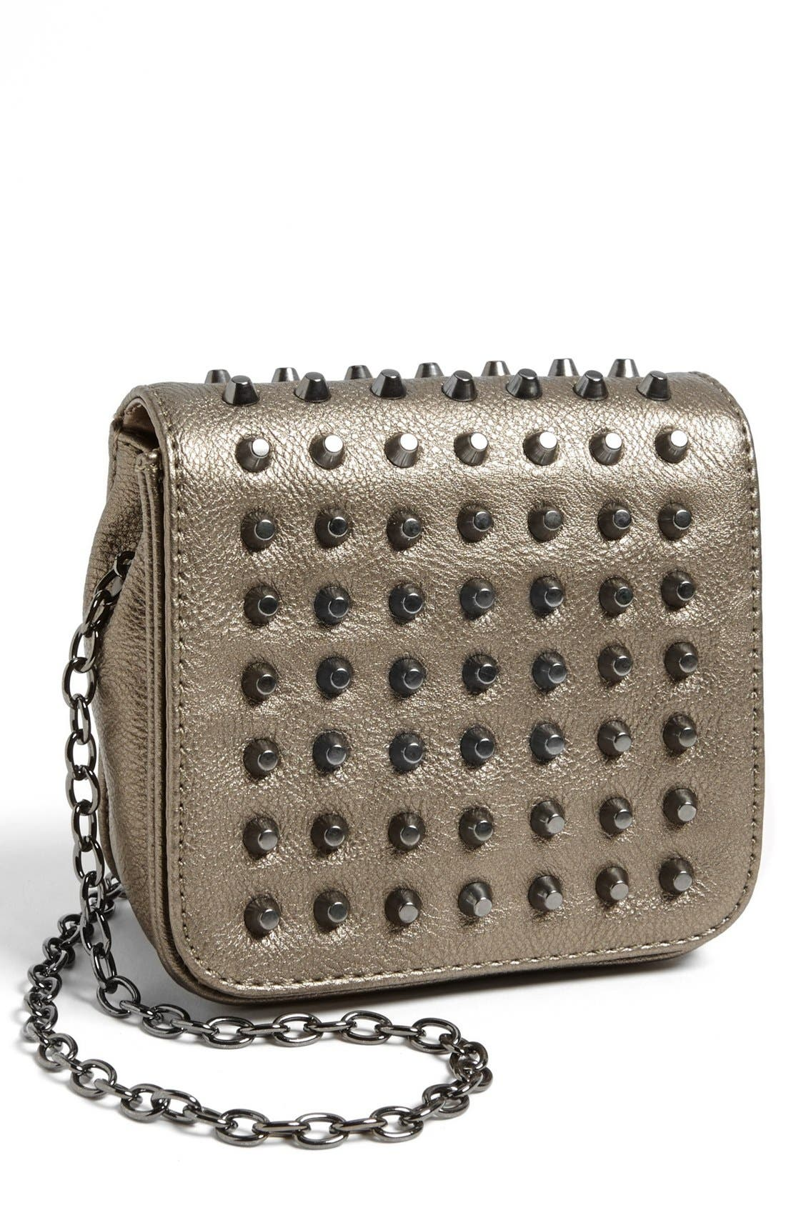 Alternate Image 1 Selected - POVERTY FLATS by rian Mini Crossbody Bag