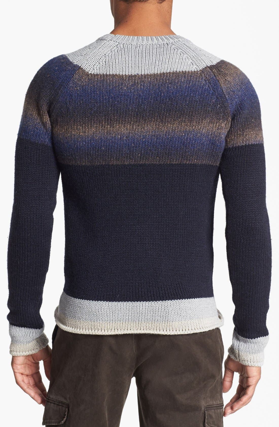 Alternate Image 2  - Antony Morato Colorblock Crewneck Sweater