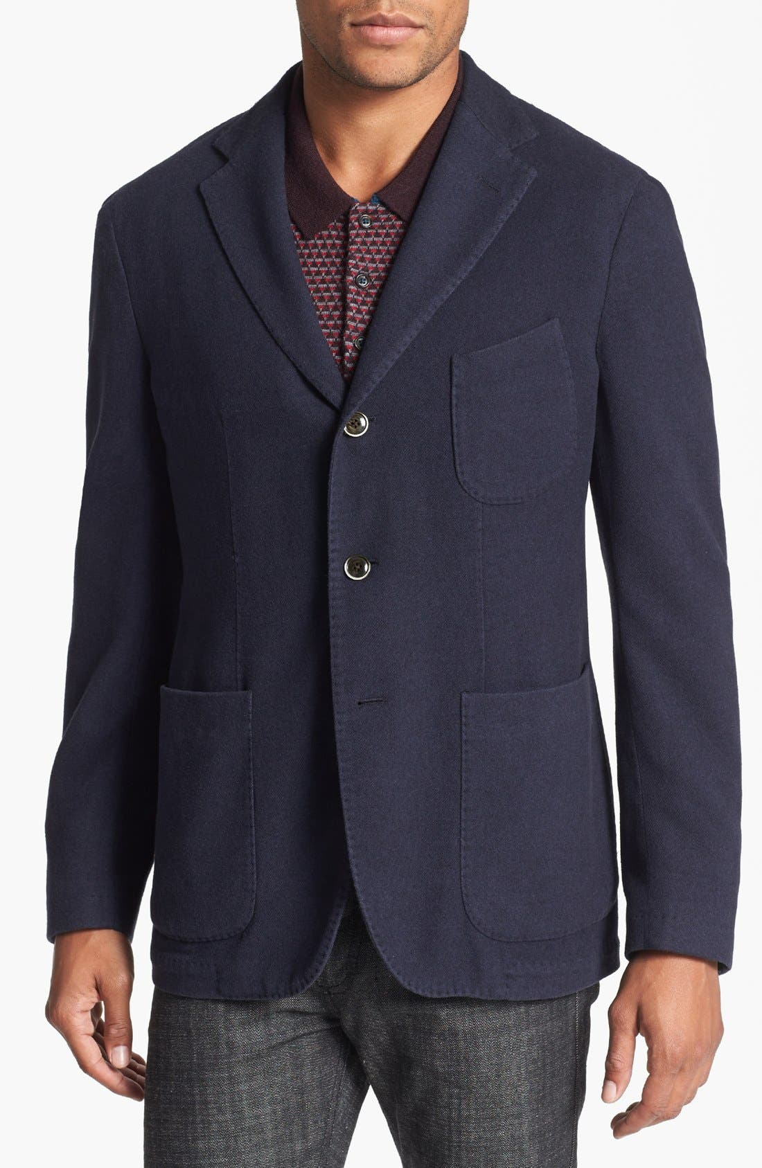 Main Image - Canali Silk & Cashmere Sportcoat