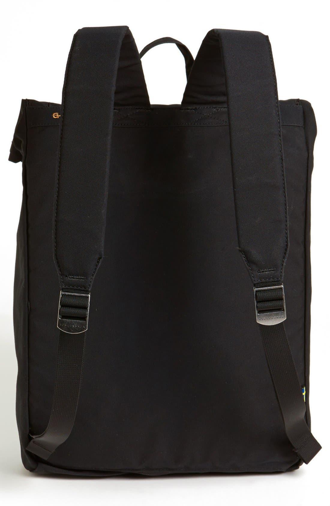 'Foldsack No. 1' Backpack,                             Alternate thumbnail 3, color,                             Black